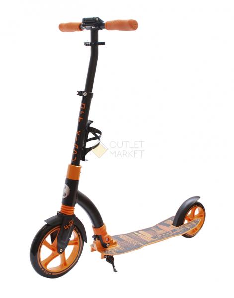 Самокат COD-X 4.0 Черно-оранжевый